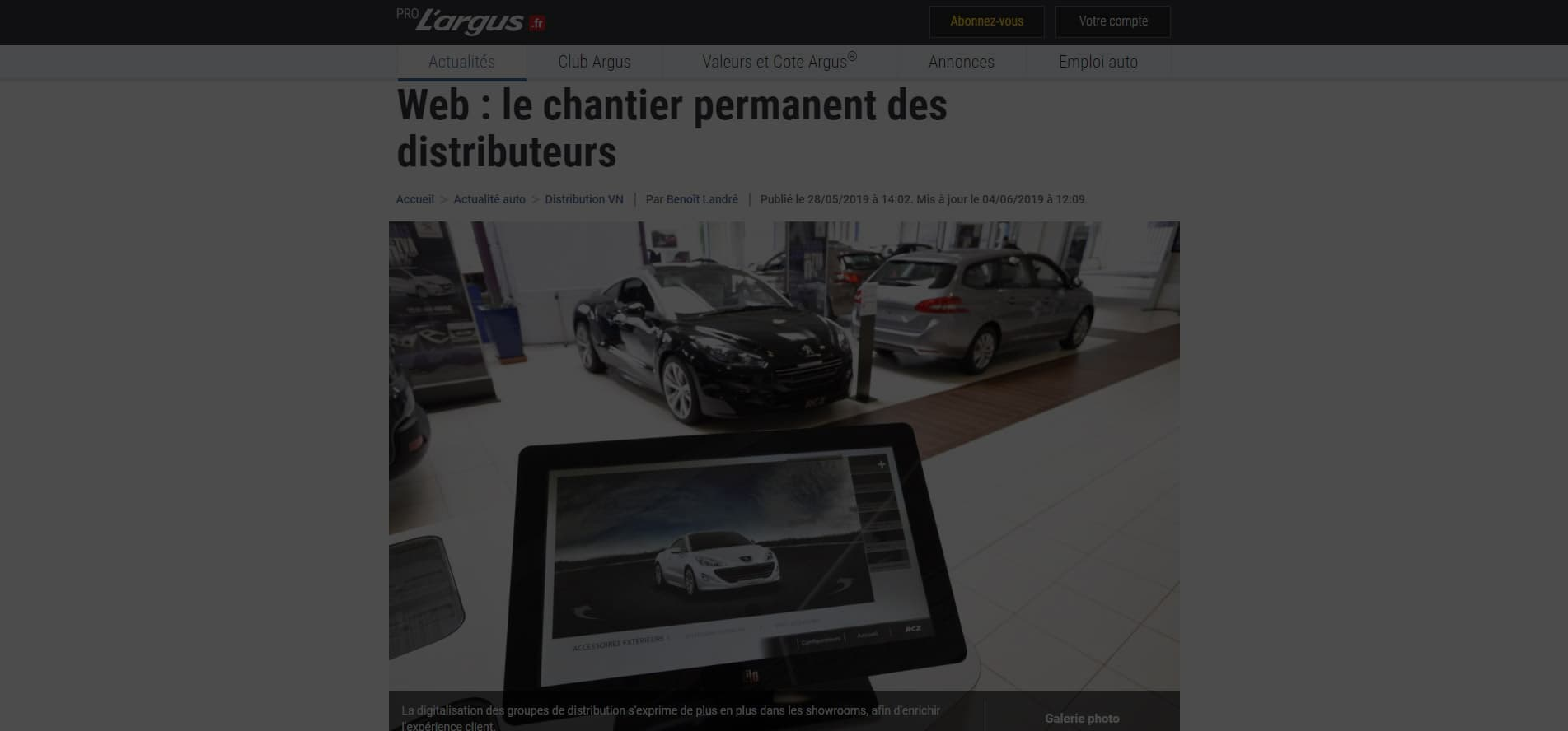 Web : le chantier permanent des distributeurs